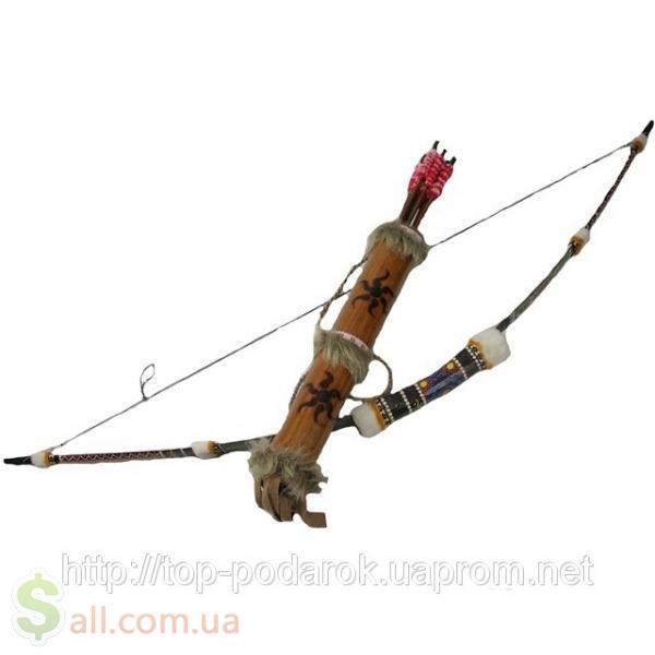 Как сделать лук и стрелы в картинках