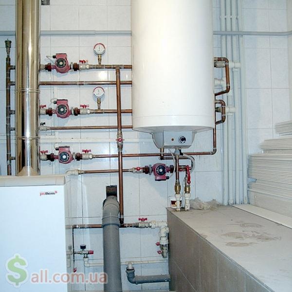 Монтаж систем опалення, водопостачання Монтаж систем отопления и водоснабжения