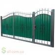Кованые ворота  3450х2150 мм