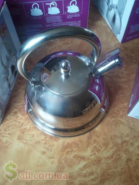 Большой индукционный чайник 3.2 литра экологичный и стильный подарок в Киеве