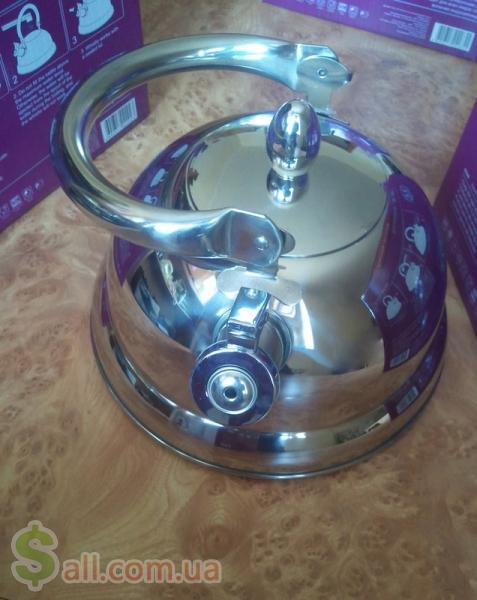 Большой индукционный чайник 3.2 литра экологичный и стильный подарок Кухонная утварь