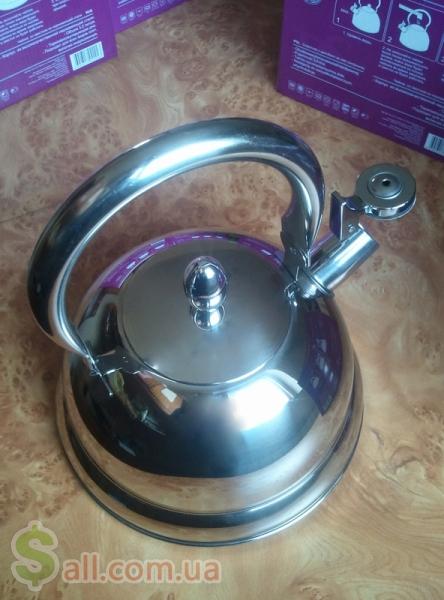 Большой индукционный чайник 3.2 литра экологичный и стильный подарок Посуда