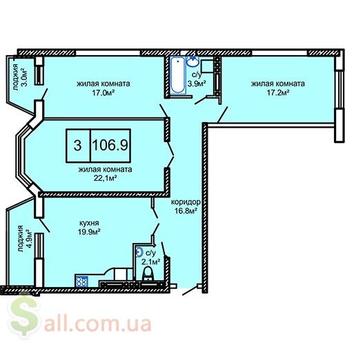 Продам квартиры в современном комплексе на Таирова Продажа квартир в новострое
