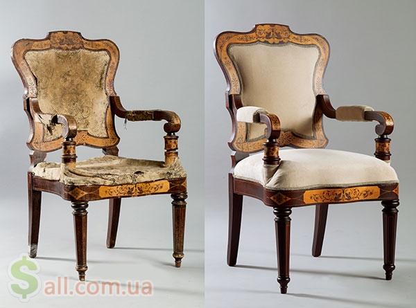Реставрация антикварной мебели в Харькове Антикварная мебель