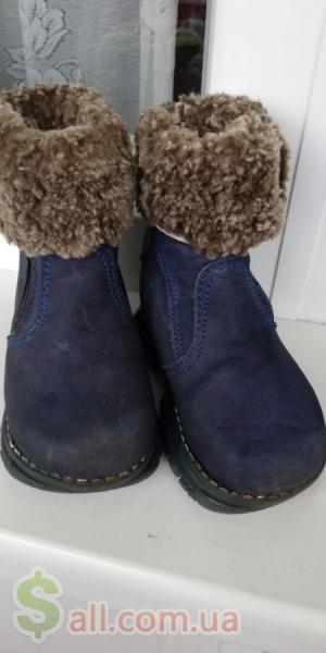 Зимние ботиночки (сапожки). Детская обувь