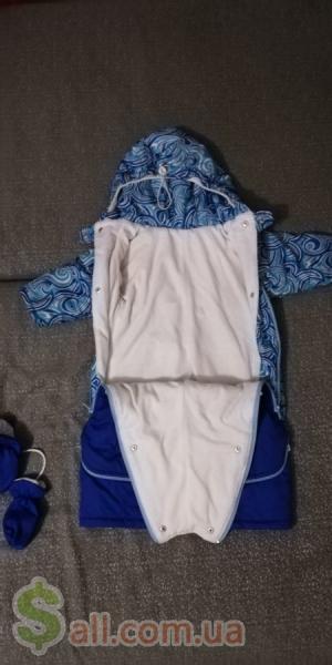 Комбинезон трансформер рост 74 Детская одежда