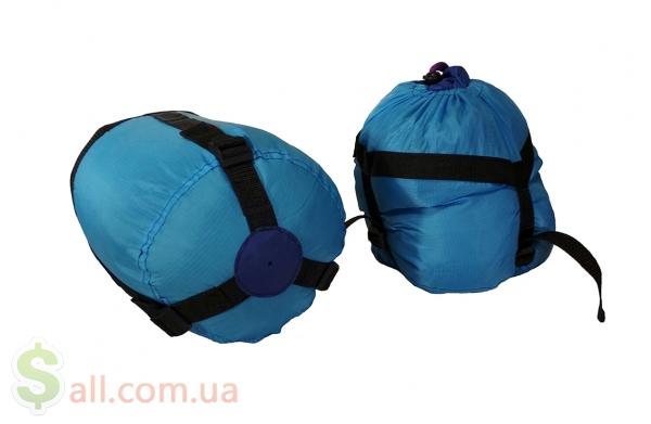 Пуховый спальный мешок кокон облегчённый на рост до 180 см. Снаряжение для альпинизма и туризма