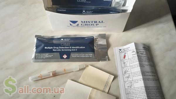 Экспресс-тест на наркотики по отпечаткам в Киеве