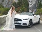Кабриолет Форд Мустанг на свадьбу, фотосессию! Единственный в Крыму!