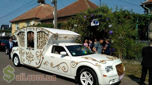 Прокат та оренда лімузинів на весілля, Івано-Франківськ в Ивано-Франковске