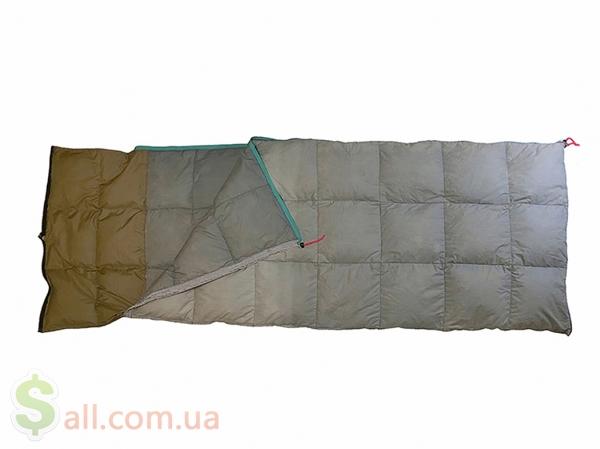Пуховый спальный мешок одеяло с капюшоном на рост до 166 см. во Львове