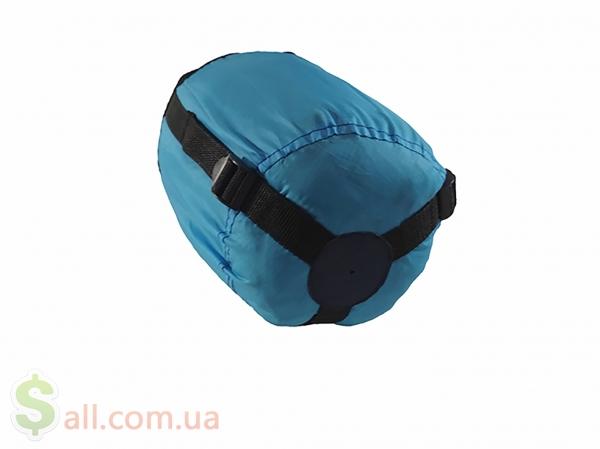Пуховый спальный мешок одеяло с капюшоном на рост до 166 см. Снаряжение для альпинизма и туризма