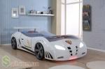 Кровать в виде автомобиля Extra turbo F1 pover